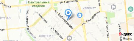 АСЫЛ-ИНВЕСТ на карте Алматы