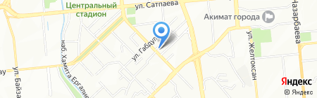 WesternAir V.K. на карте Алматы