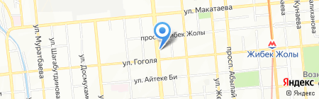 Семейная на карте Алматы