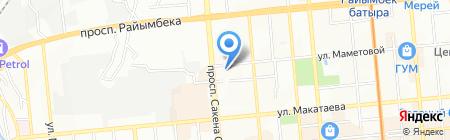 Жаксылык Консалтинг на карте Алматы