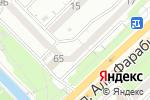 Схема проезда до компании Krones в Алматы