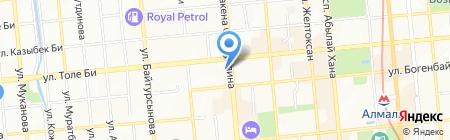 Институт стоматологии на карте Алматы