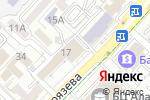 Схема проезда до компании Чемодан в Алматы