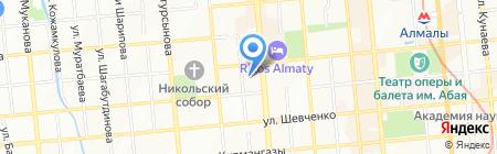 Казахтрансстрой на карте Алматы
