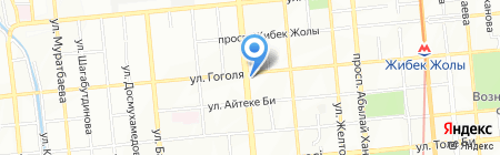 Алматыкитап на карте Алматы