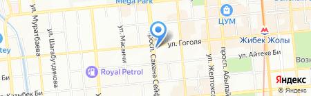 SENYM CDE GROUP на карте Алматы