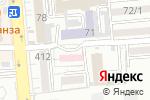 Схема проезда до компании Городской центр репродукции человека в Алматы