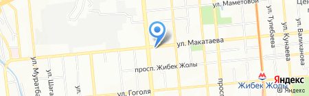 Швейный на карте Алматы