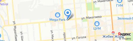 LACERTA на карте Алматы