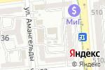 Схема проезда до компании Дорстройпроект НС в Алматы