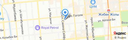 Платежный терминал Kaspi bank на карте Алматы