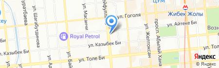 Дарница на карте Алматы