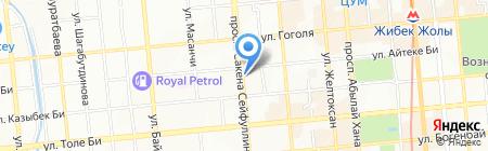 Разгуляй на карте Алматы
