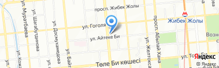 Бодрый День на карте Алматы