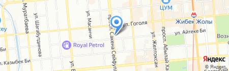 Майсат на карте Алматы