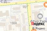 Схема проезда до компании AIGUL LINE в Алматы