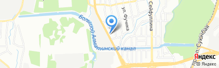 AHISKA на карте Алматы