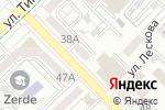 Схема проезда до компании Дарын в Алматы