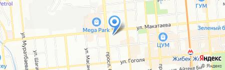 PEREVOZKA на карте Алматы