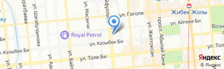 YESSEY на карте Алматы
