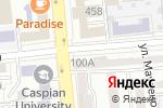 Схема проезда до компании НУР ПОЛИС в Алматы