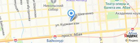 Офтальмологический центр Коновалова на карте Алматы