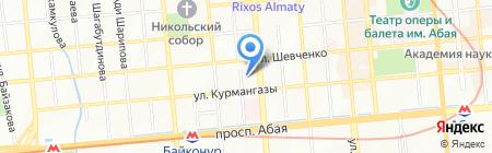 Ясли-сад №16 на карте Алматы
