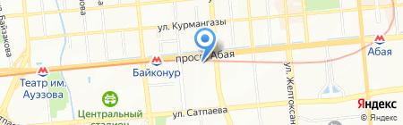 Айвенго на карте Алматы
