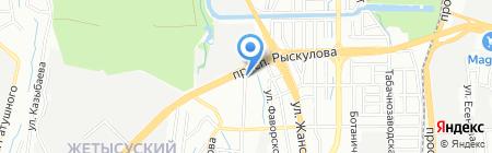Автолифт-3D на карте Алматы
