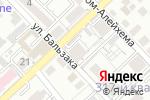 Схема проезда до компании InterHouse в Алматы