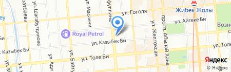Художник на карте Алматы