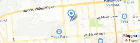 Жарык на карте Алматы