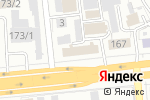Схема проезда до компании TanAuto Kazakhstan в Алматы