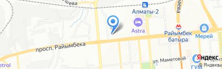 Zhedel Information Systems на карте Алматы