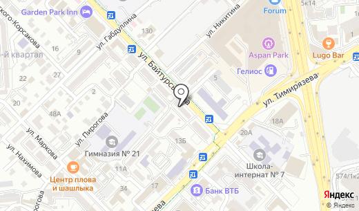 Carpo. Схема проезда в Алматы