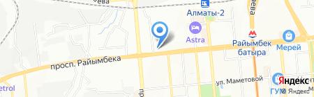 Вторполимер на карте Алматы