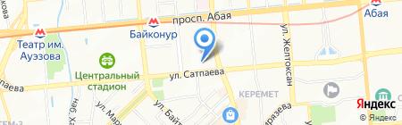 Ою на карте Алматы