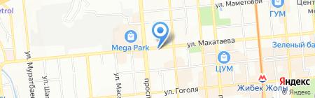 Новые грани на карте Алматы