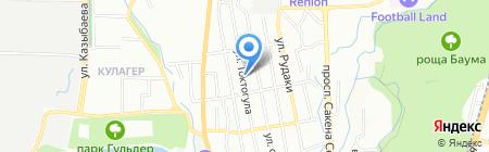 Almaz на карте Алматы