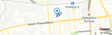 MasterCargoTrans на карте Алматы