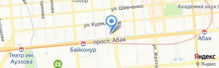 Экспресс ТОО на карте Алматы