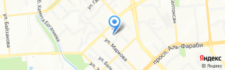 Simbaland на карте Алматы