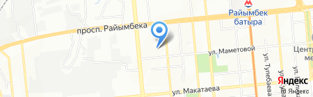 Fitpark на карте Алматы