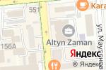 Схема проезда до компании Жилстройсбербанк Казахстана в Алматы