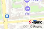 Схема проезда до компании Homeflat в Алматы