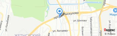 Transciti на карте Алматы