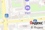 Схема проезда до компании MediService в Алматы