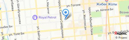Харсан и Партнеры на карте Алматы