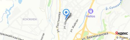 Забота на карте Алматы