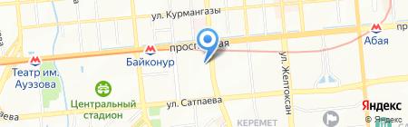 Терискей горнодобывающая компания на карте Алматы